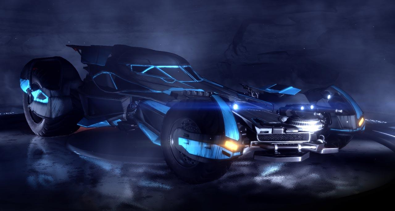 The Batmobile Is Headed To Rocket League Nag