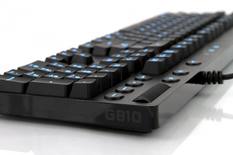 logitech orion g810 spectrum gaming keyboard