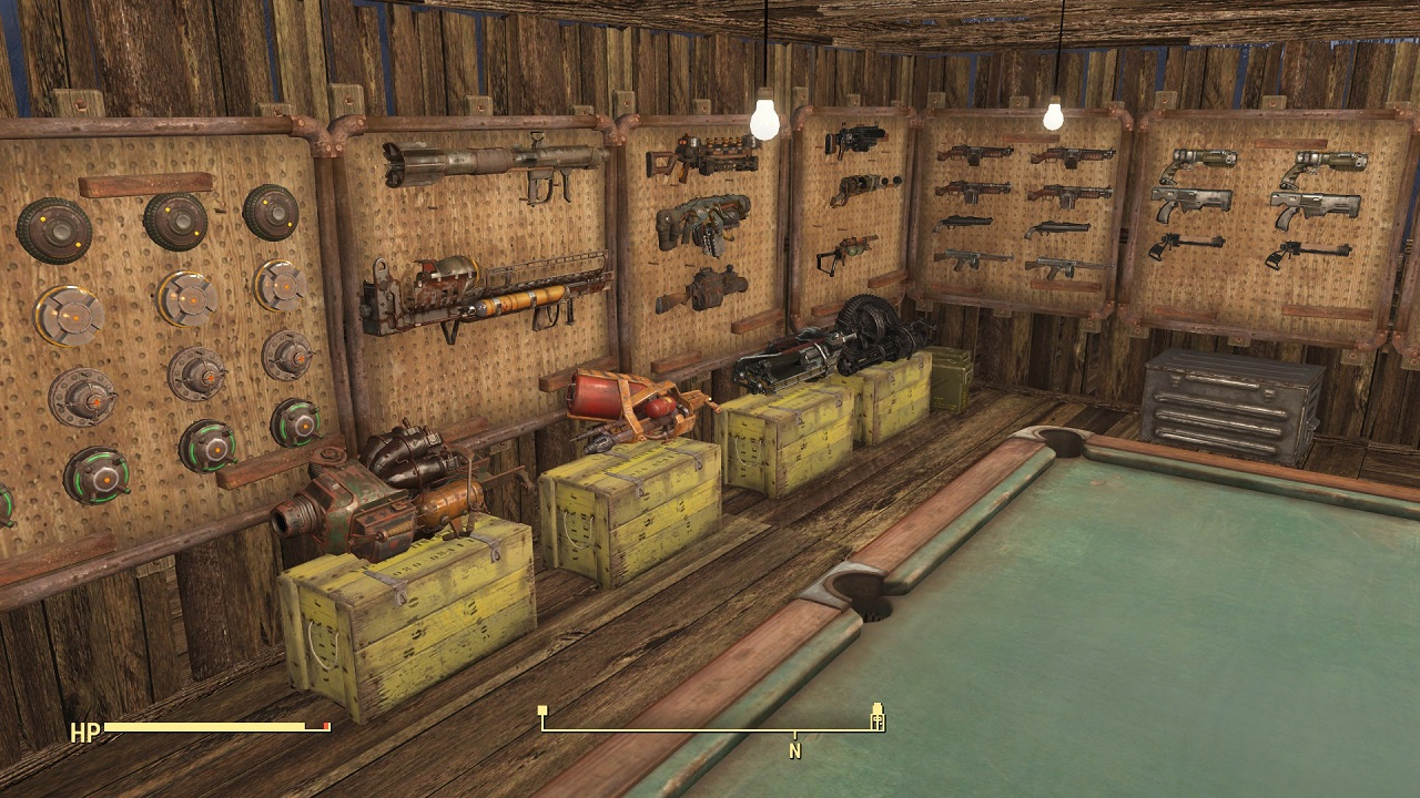 how to create weapons in fallout 4 ps4