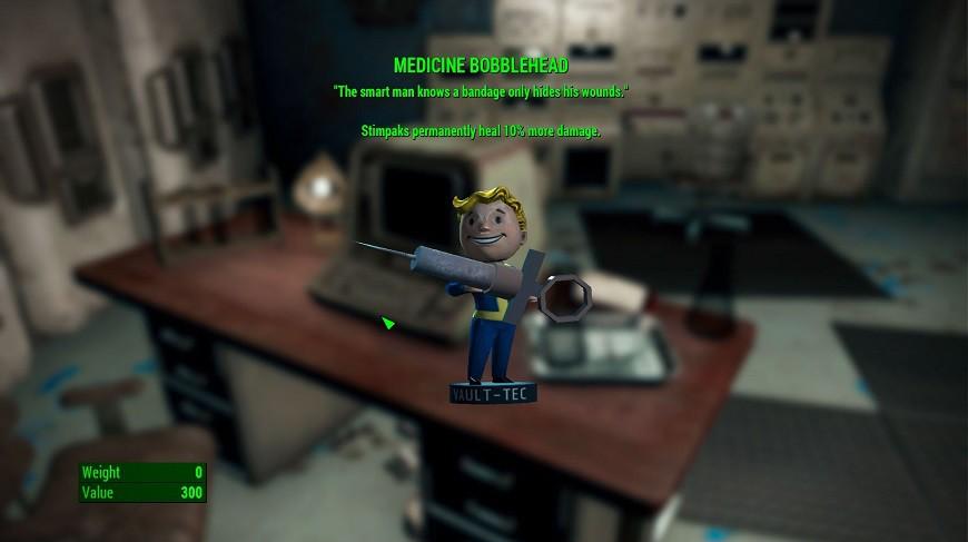 Fallout 4 medicine Bobblehead