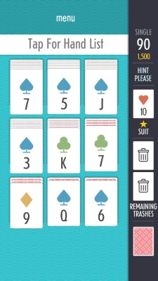 Sage Solitaire gameplay