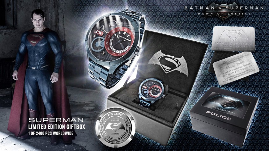 Superman Police watch