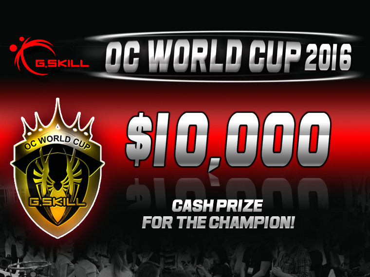 gskill oc world cup 2016