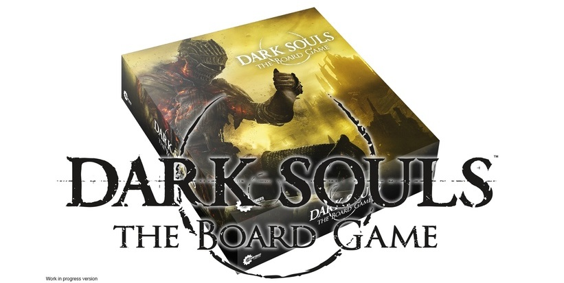 Dark Souls board game cover