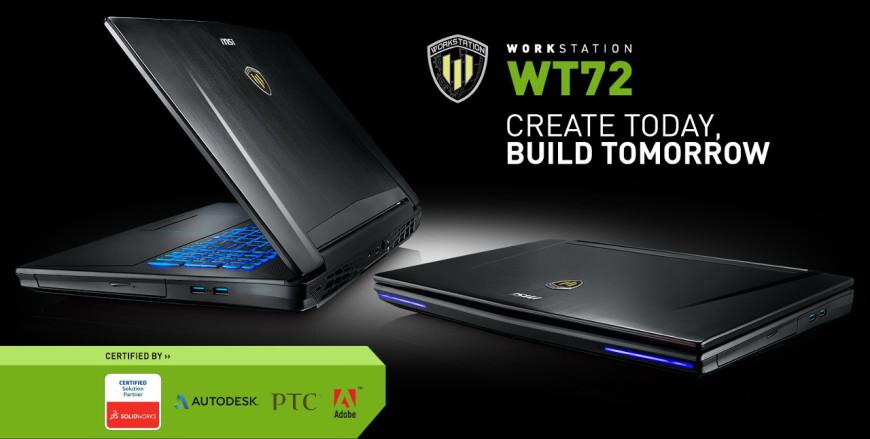 MSI WT72 Workstation
