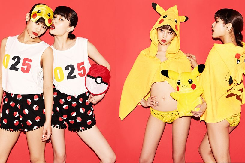 pokemon lingerie