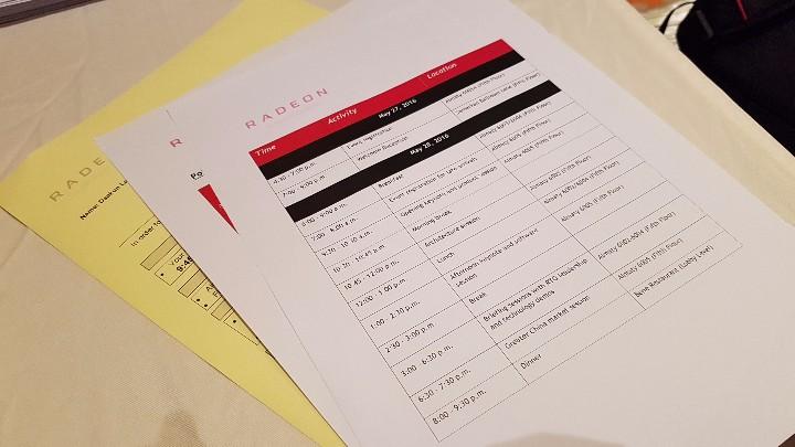 AMD Macau event day one schedule