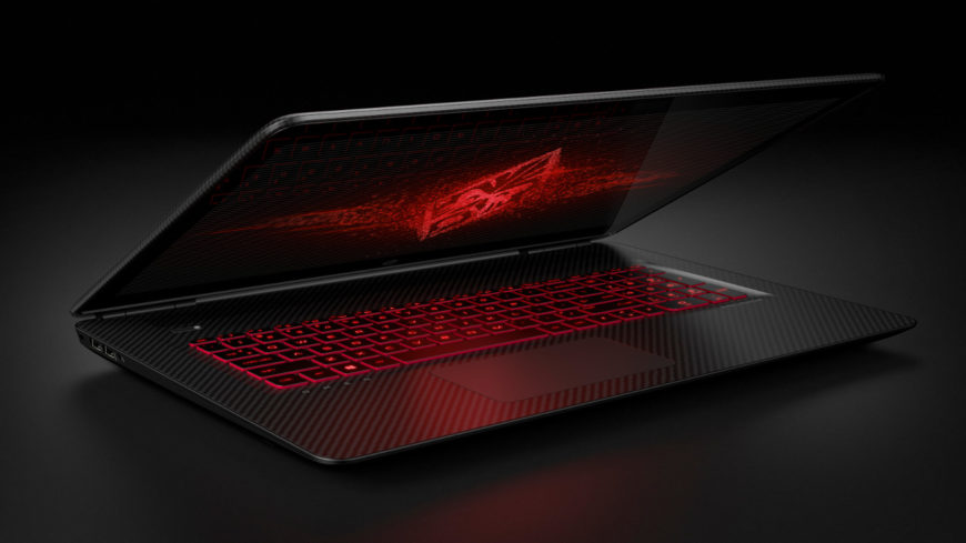 HP Omen 17 laptop 2016
