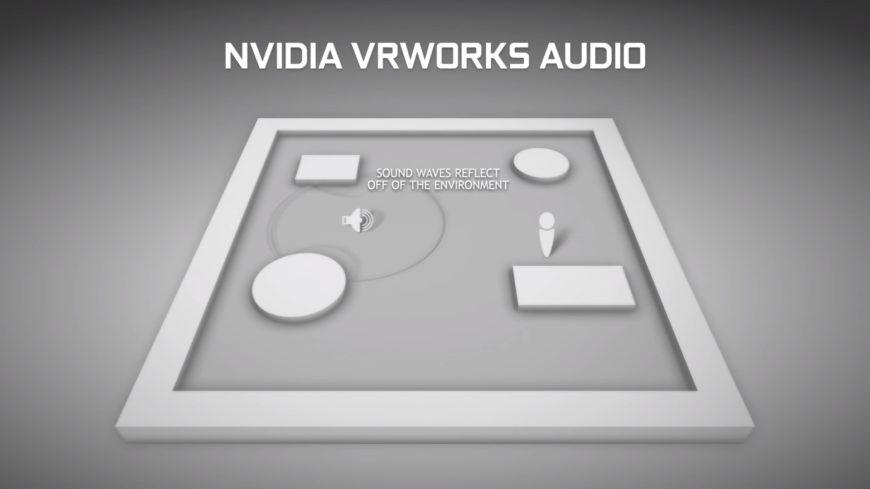 NVIDIA VRWORKS audio waves