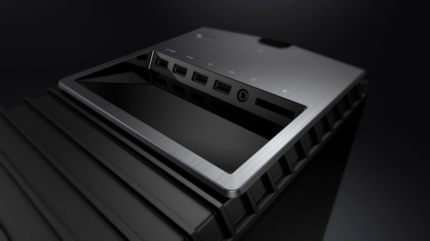 OMEN by HP Desktop PC with port detail