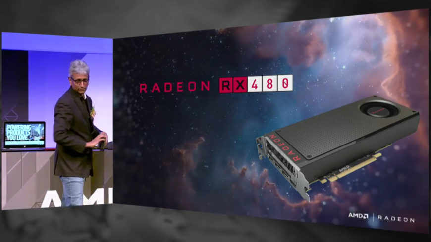 AMD Radeon RX 480 header