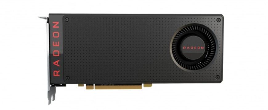 AMD Radeon RX480 front render