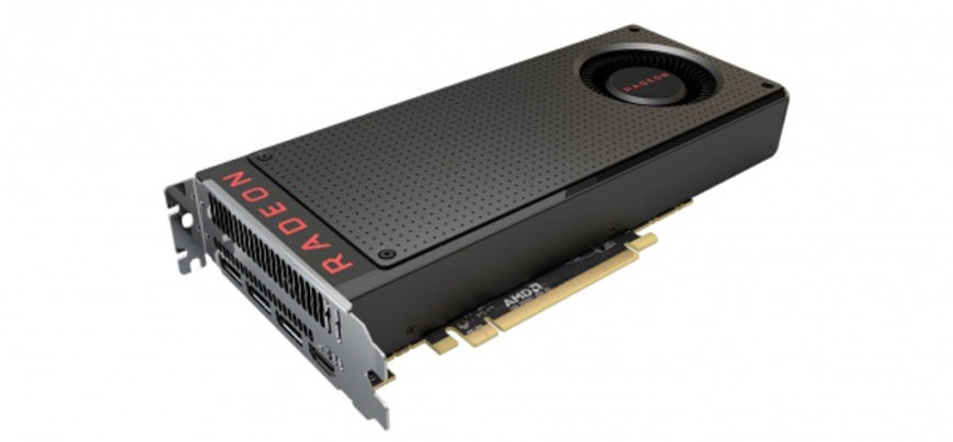 AMD Radeon RX480 top render