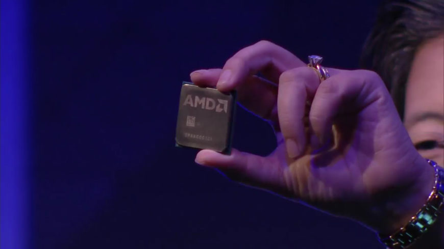 AMD Zen silicon first look
