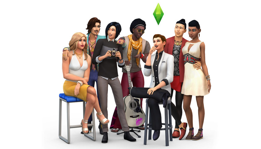 TS4_CAS+Update_Key+Art