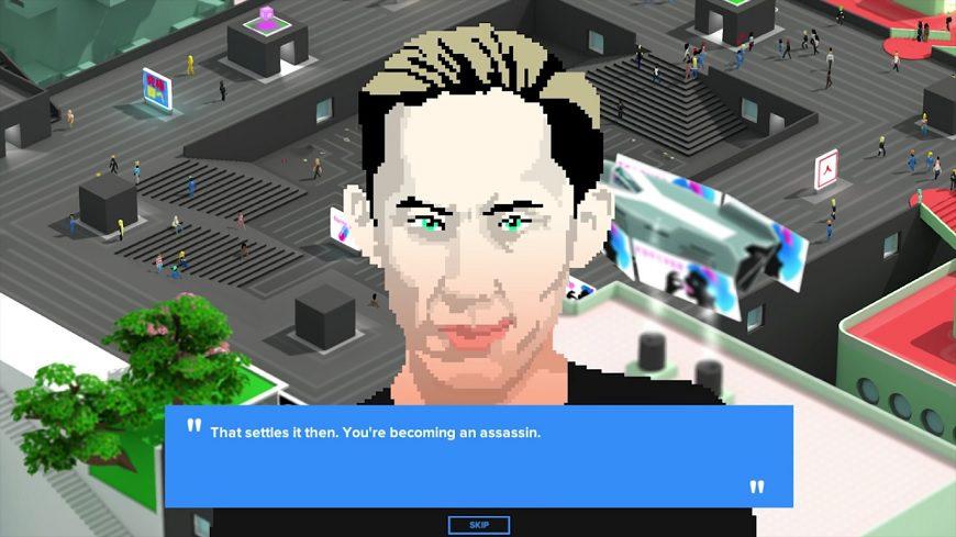 Tokyo 42 Assassin dialogue