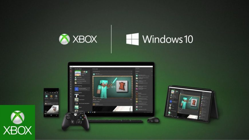 windows 10 xbox platform