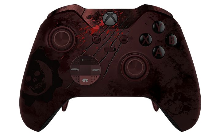 xbox one elite gears of war controller