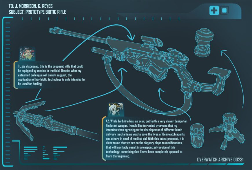 overwatch prototype biotic rifle