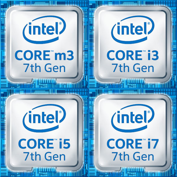 Intel Kaby Lake product badges