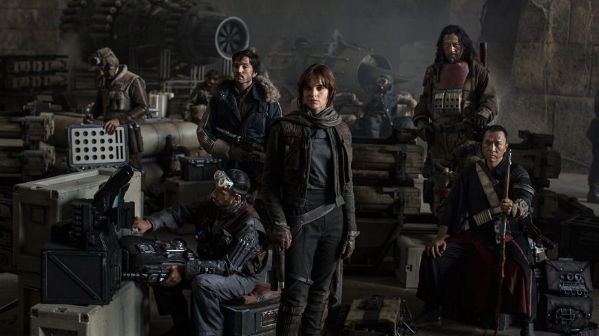 Rogue One Cast cover