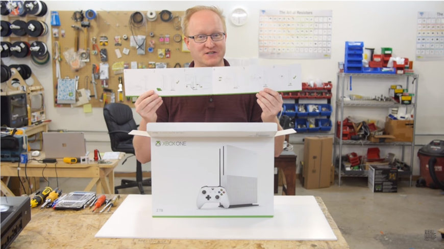 ben heck xbox one s teardown