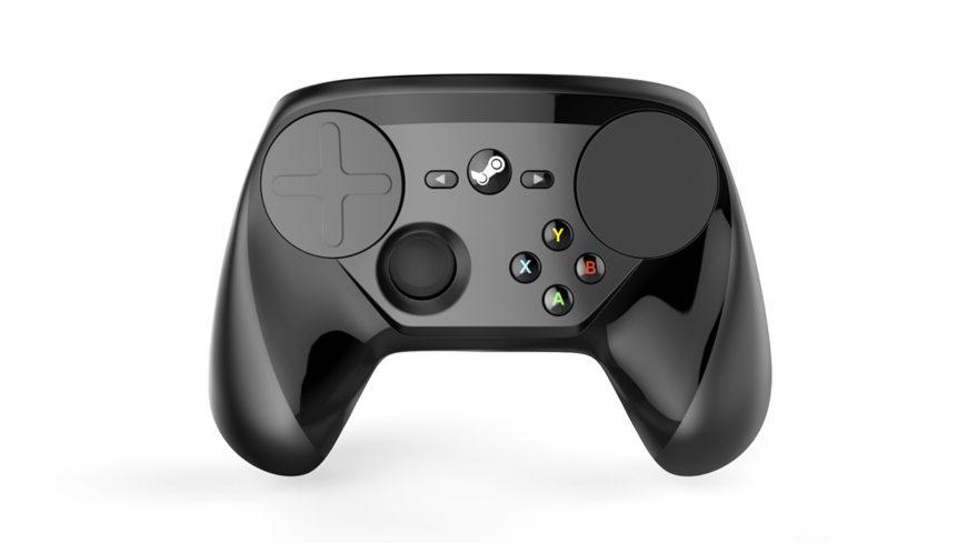 steam controller final render