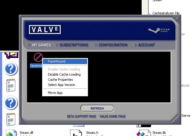 This is what the Steam UI looked like in the 2003 beta.