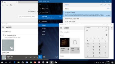 Windows 10 1607 Default theme