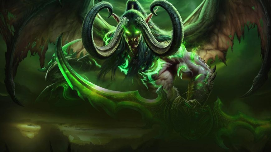 Illidan. Not a kiff oke. Likes green.