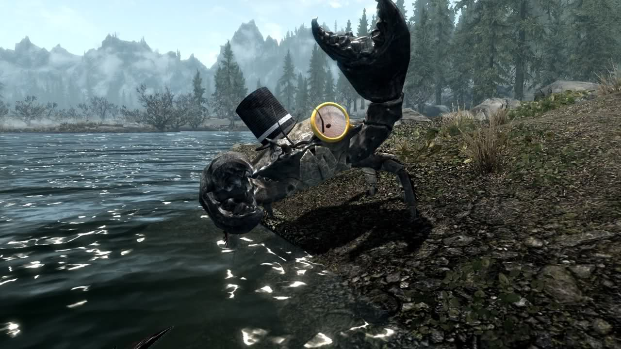 how to play skyrim in 3d on pc