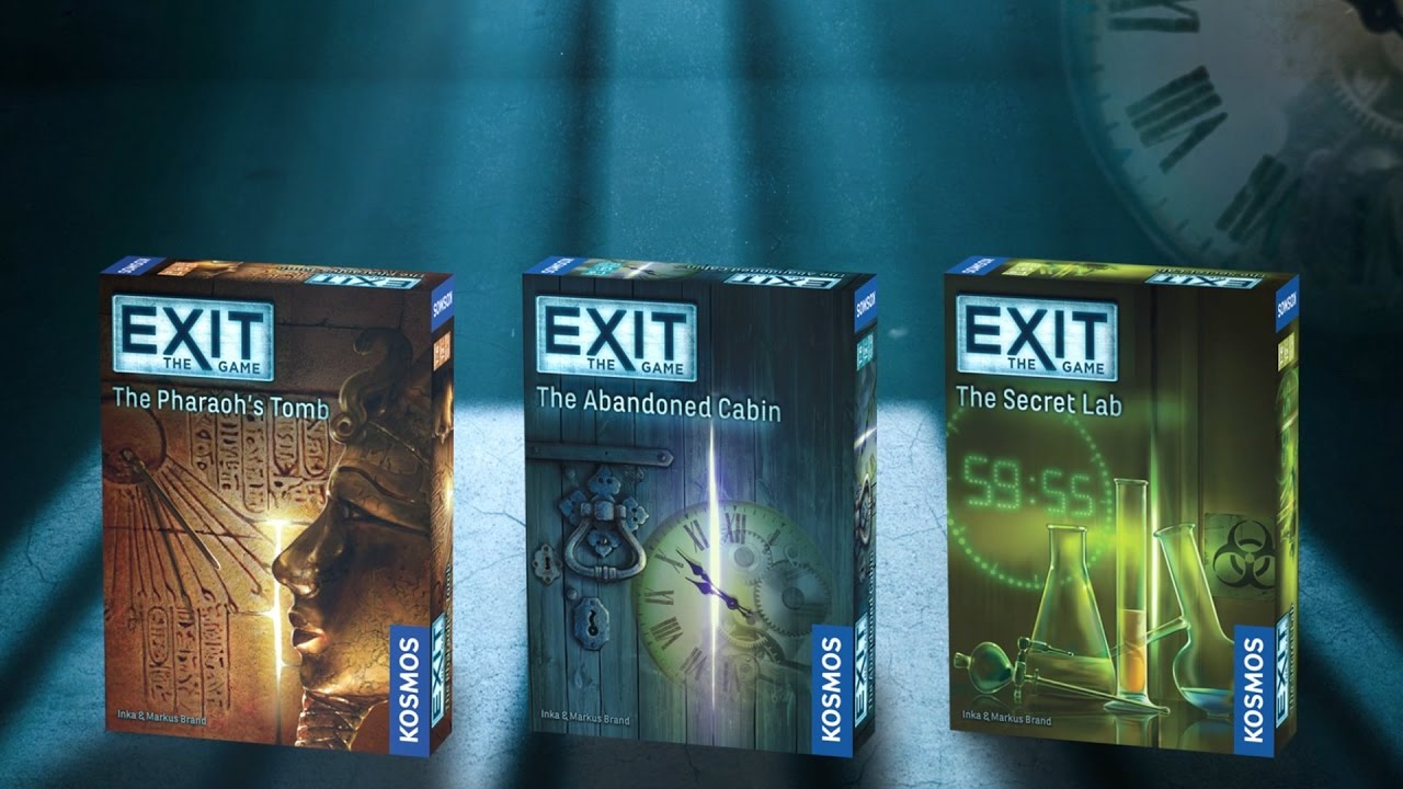 Board Game Like Exit Room