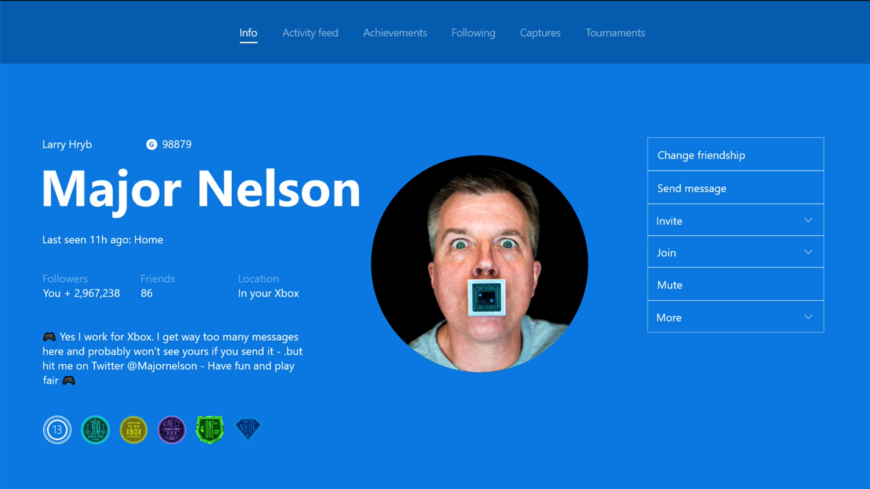 You Can Finally Have A Custom Profile Picture On Xbox One