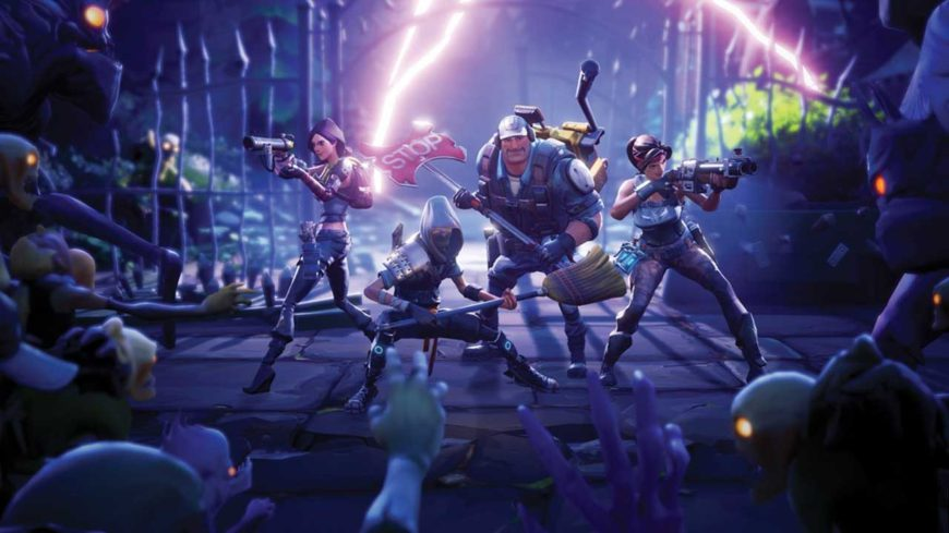 can you play fortnite on pc with ps4 players