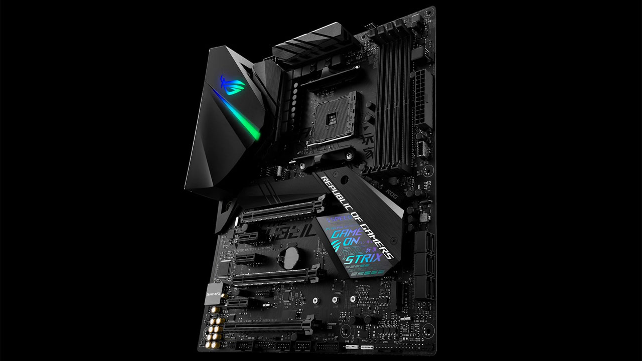 Asus Rog Strix X470 F Gaming Motherboard Review Nag