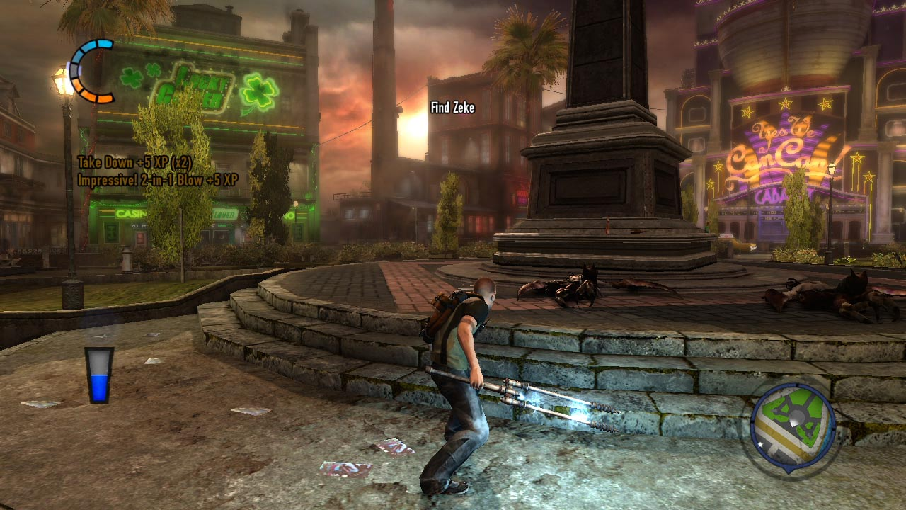 Feature review: inFAMOUS 2 > NAG on infamous second son map, just cause 2 map, everybody's gone to the rapture map, grandia 2 map, pac-man world 2 map, grim dawn map, grand theft auto: san andreas map, uncharted 2 map, bound by flame map, prototype 2 map, crash bandicoot 2 map, crash twinsanity map, the witcher 3: wild hunt map, arkham city map, prototype 3 map, batman: arkham knight map, infamous first light map, mortal kombat 2 map, forza 4 map, infamous festival of blood mary's teachings,