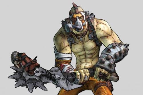 Meet Krieg, a new Borderlands 2 character  He smashes stuff