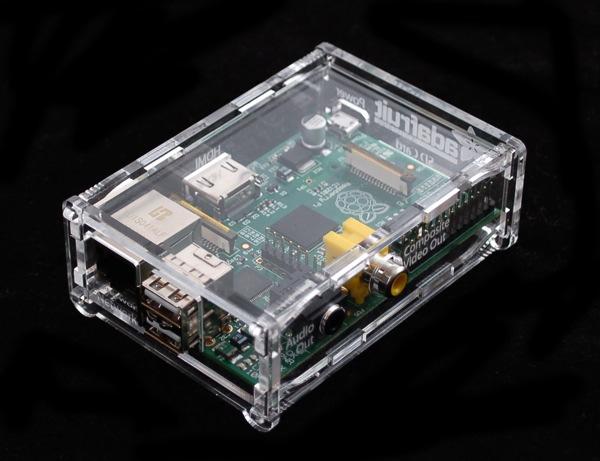 Raspberry Pi perspex case