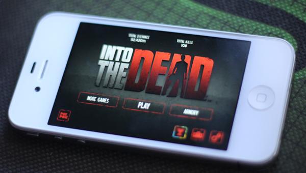 into the dead header