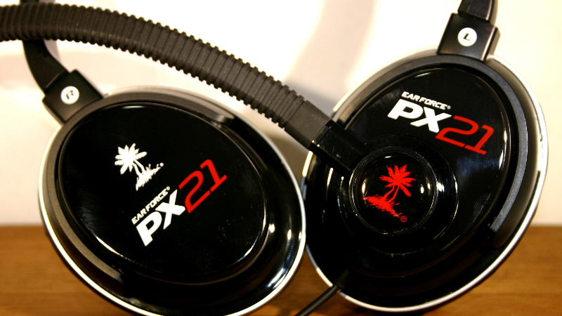 how to use turtle beach px21 on ps3