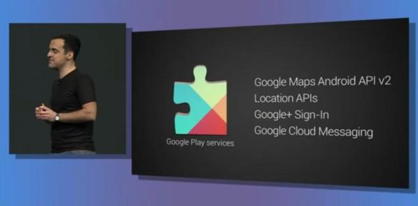 google services update