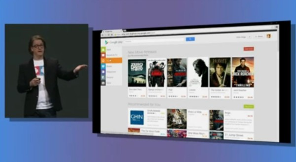 play store desktop redesign