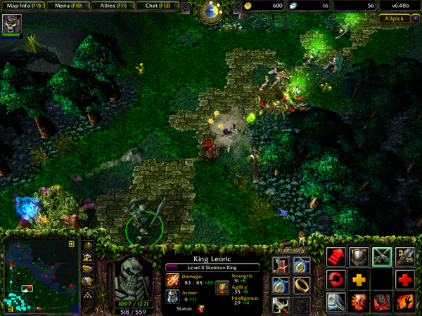 The original is a little long in the tooth now, if you've never played you should try the free-to-play DotA 2.