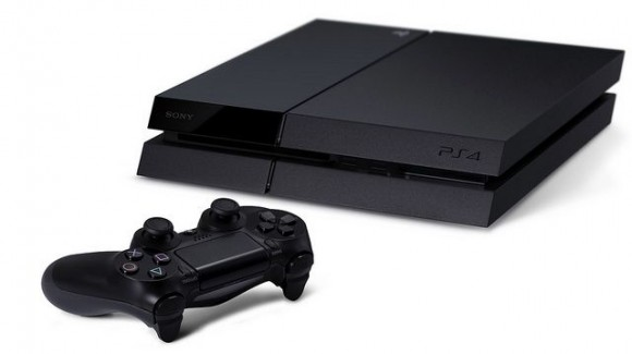Sony PS4 with controller