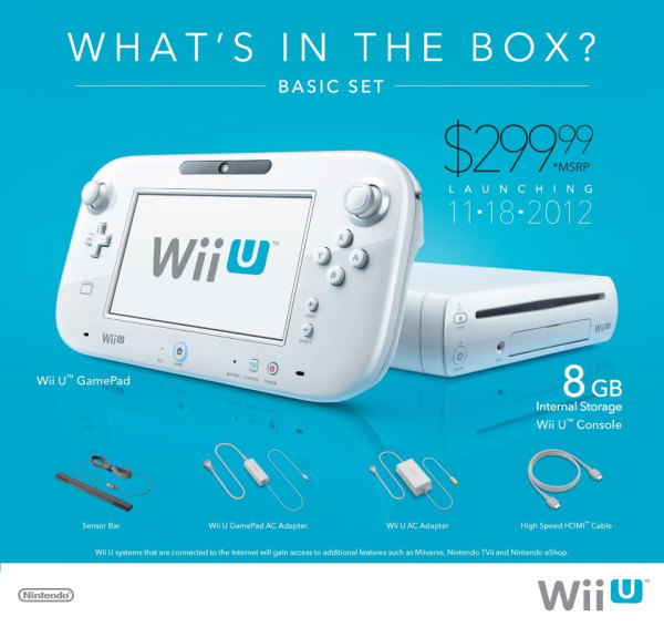 Get out of here, Wii U Basic, and take your stupid adaptors and 8GB storage with you. *spit*