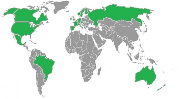 Geographically, we're further from the damn green than anyone else.