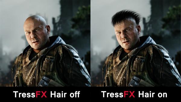 AMD TressFX comparison
