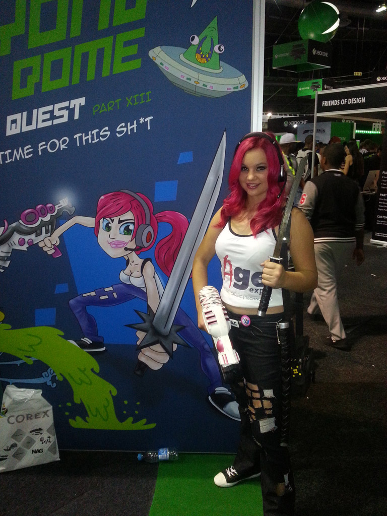 Someone Cosplayed As Roxy