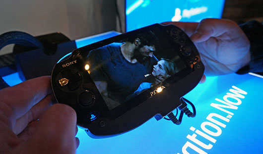 The last of Us on a Vita through Playstation Now
