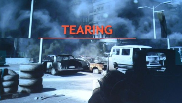 game tearing without V-Sync